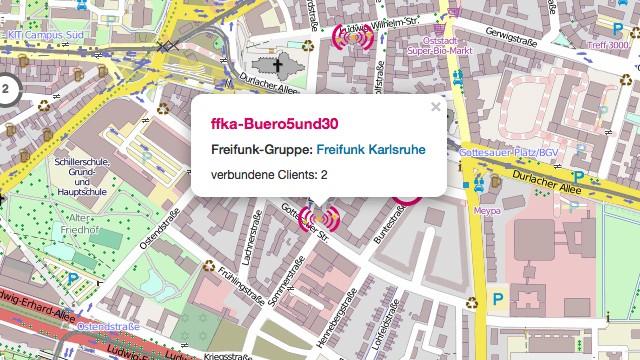 Freifunk-Knoten Büro 5&30, Karlsruhe
