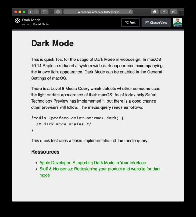 Webdesign: Helles Erscheinungsbild (Light Mode)