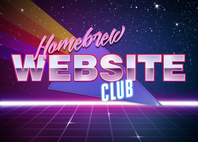 Homebrew Website Club